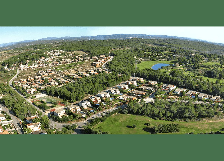 General view. Urban Plan 'PP17 i PP08 - Park Mestral' (El Catllar)