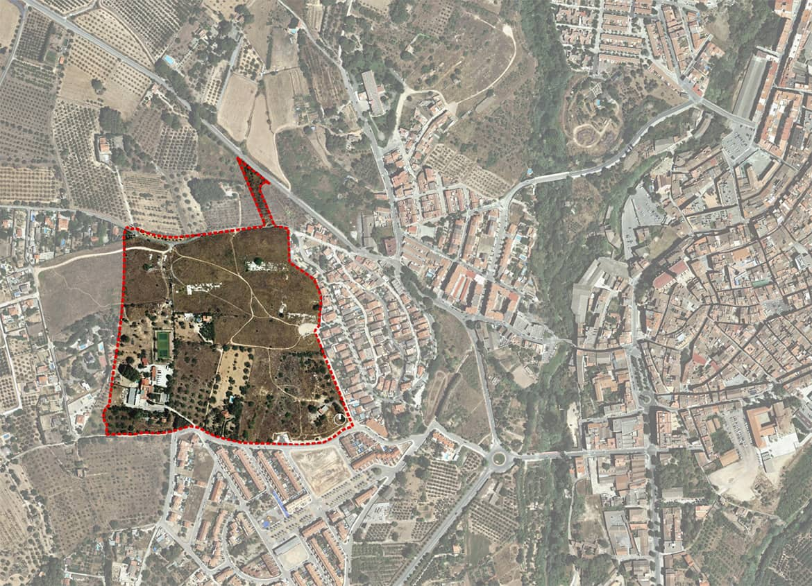 Site plan. Urban Plan 'Sector PP7 - La Freixa' (Valls)