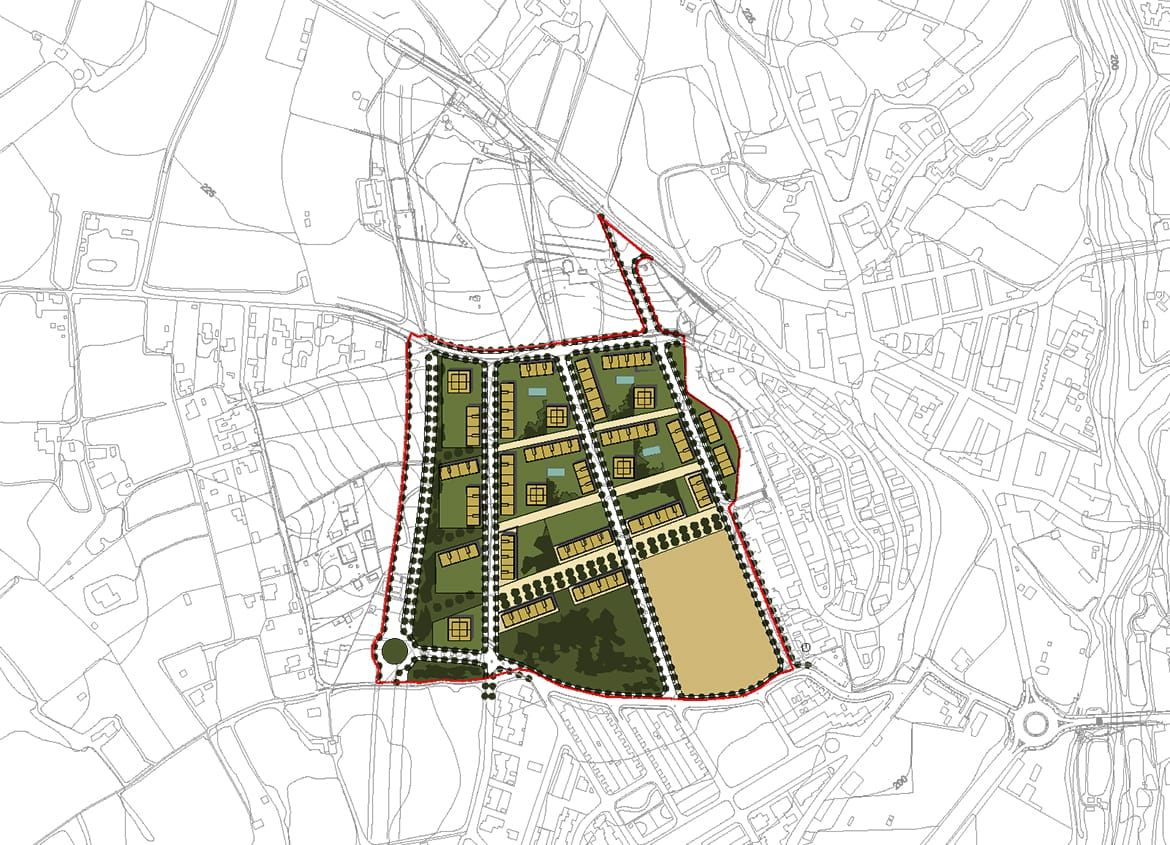 Urban planning proposal. Urban Plan 'Sector PP7 - La Freixa' (Valls)
